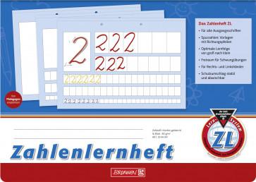 Brunnen Zahlenlernheft DIN A4 quer Lineatur ZL 80 g/m² 16 Blatt