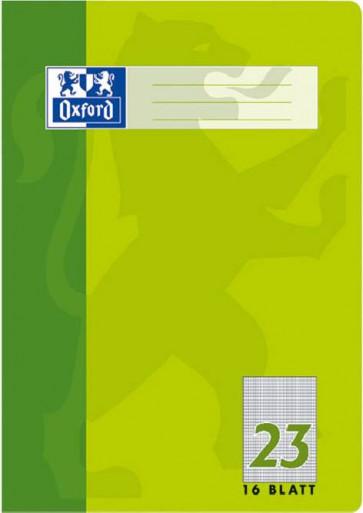 Oxford Schulheft A4 Lineatur 23 rautiert 16Blatt