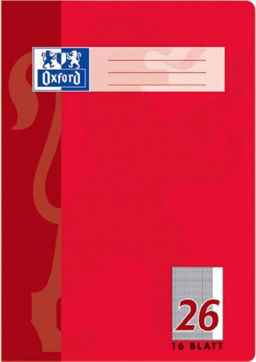 Oxford Schulheft DIN A4 Lineatur 26 kariert 16 Blatt