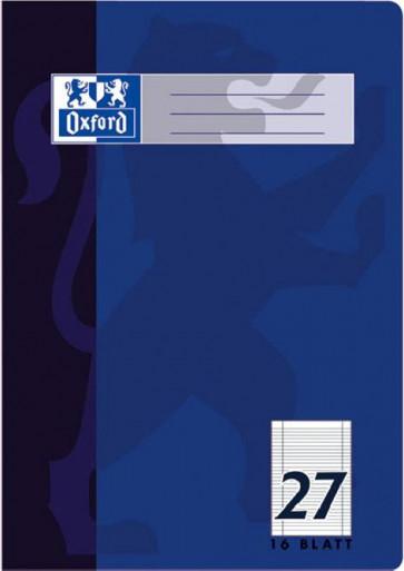 Oxford Schulheft DIN A4 Lineatur 27 liniert 16 Blatt