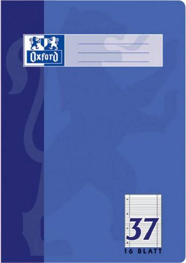 Oxford Schulheft DIN A4 Lineatur 37 liniert 16 Blatt