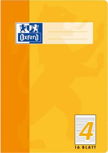 Oxford Schulheft DIN A5 16 Blatt Lineatur 4 liniert
