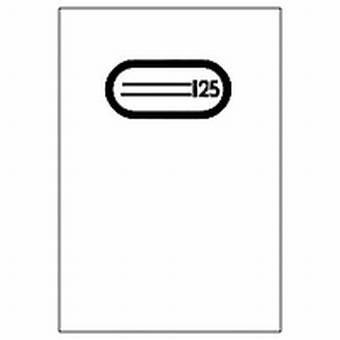 Herma Heftschoner Plastik A4 Transparent 7490 ohne Namensschild (Heftumschag)