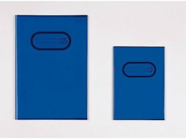 Herma Heftumschlag Transparent A4 Blau 7493 ohne Namensschild (Heftschoner)