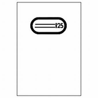 Herma Heftumschlag Plastik A5 Transparent 7480 ohne Namensschild (Heftschoner)