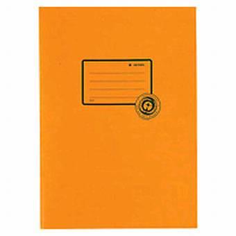 Herma Heftumschlag Papier Recycling A4 Orange 5534 (Heftschoner)