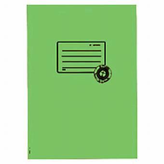 Herma Heftumschlag Papier Recycling A4 Hellgrün 5538 (Heftschoner)