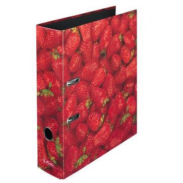 Herlitz Motivordner maX.file Erdbeere DIN A4 80 mm
