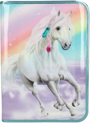 Miss Melody XXL Federmäppchen 1-Zipp gefüllt RAINBOW || Depesche 11063