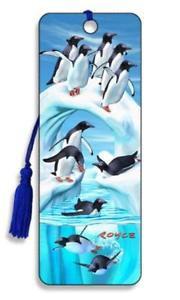 3D Lesezeichen Penguin Iceberg    Artgame