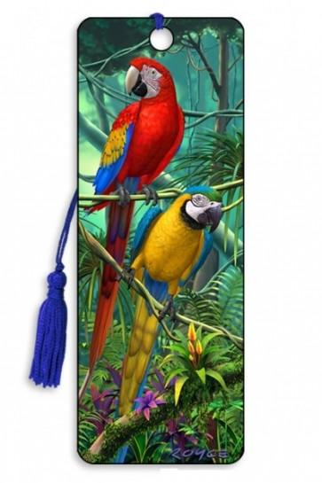 3D Lesezeichen Papagei    Artgame