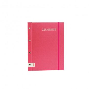 Zeugnismappe Metallium von Roth in Pink (DIN A4)