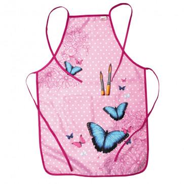 Malkittel Butterfly von Roth zum Malen Kinderschürze 40x60 cm