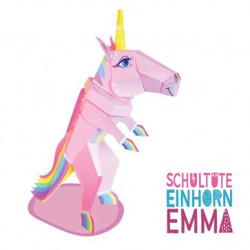 Der Kleine Knick Schultüte Einhorn Emma