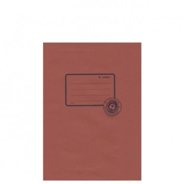 Herma Heftschoner Papier Recycling A5 Braun 5507