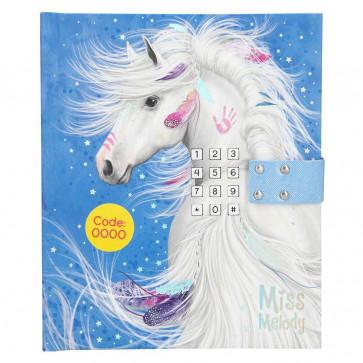 Miss Melody Tagebuch mit Code und Sound, Motiv 2 10455
