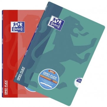 OXFORD Schulheft Openflex® DIN A4 Lineatur 25 (verschiedene Farben)