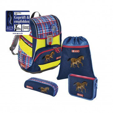 Step by Step Schulranzen Set 2in1 Horse Family