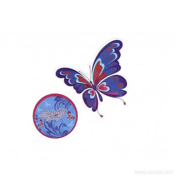 Spirit Sticker Schmetterling 2 Stück