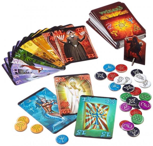 Kartenspiel Wizzard