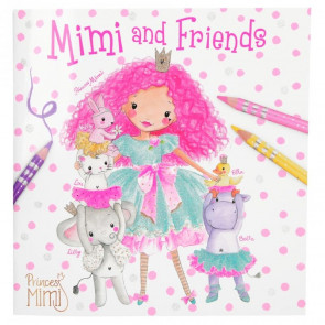 Princess Mimi and Friends Malbuch 10623