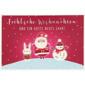 Medi Klappkarten Weihnachten X-MAS Dreams Fröhliche Weihnachten    Depesche 8635