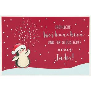 Medi Klappkarten Weihnachten X-MAS Dreams Fröhliche Weihnachten und ein glückliches neues Jahr    Depesche 8635
