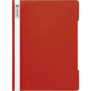 Brunnen Schnellhefter rot Folie DIN A4