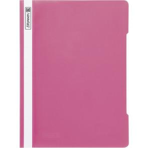 Brunnen Schnellhefter pink Folie DIN A4