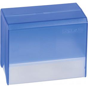 Brunnen Karteikartenbox DIN A6 transparent blau