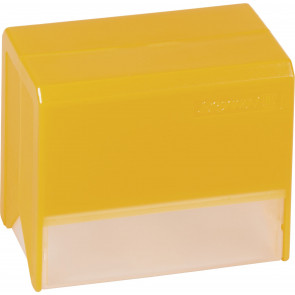Brunnen Karteikartenbox DIN A7 orange transparent