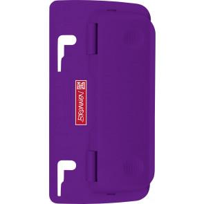 Brunnen Taschenlocher purple 102065060