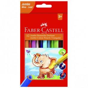 Faber-Castell Buntstifte dreikant Jumbo 5.4mm 12er
