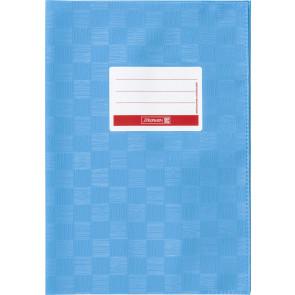 Hefthülle A4 m.blau Folie mitSchild