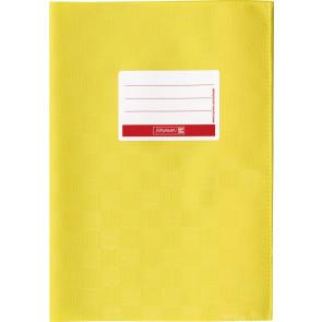 Hefthülle A5 gelb Folie mitSchild