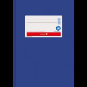 """Brunnen Heftumschlag Hefthülle Recyclingkarton DIN A5 """"enzian"""" (Heftschoner) 104055536"""