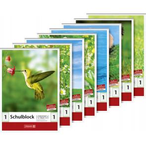 Brunnen Schulblock DIN A5 Lineatur 1 50 Blatt
