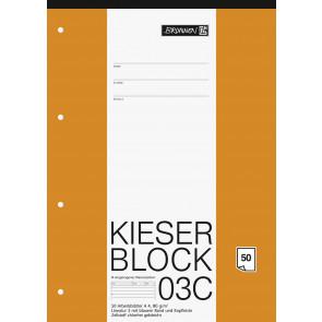 Brunnen Kieserblock A4 50 Blatt Lineatur 03C