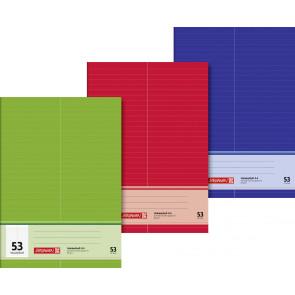 Brunnen Vokabelheft Format A4 1043725 32 Blatt Liniatur 53 verschiedene Farben