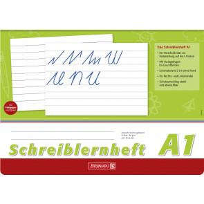 Brunnen Schreiblernheft A4 quer 1044001 Lineatur A1 80 g/m² 16 Blatt