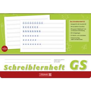 Brunnen Schreiblernheft A4 quer 1044002 Lineatur GS 80 g/m² 16 Blatt