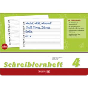Brunnen Schreiblernheft A4 quer 1044004  Lineatur 4 80 g/m² 16 Blatt