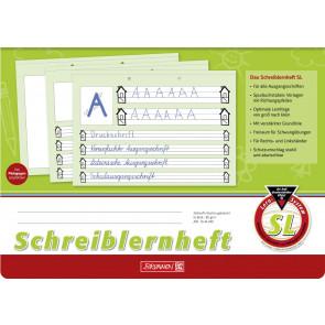 Brunnen Schreiblernheft A4 quer 1044040 Lineatur SL 80 g/m² 16 Blatt
