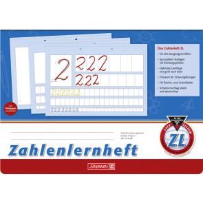 Brunnen Zahlenlernheft A4 quer 1044041 Lineatur ZL 80 g/m² 16 Blatt