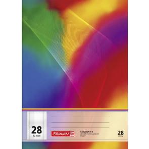 Brunnen Schulheft A4 FSC 104432802 Liniatur 28 32 Blatt