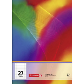 Brunnen Schulheft A4 FSC 104492702 Liniatur 27 16 Blatt