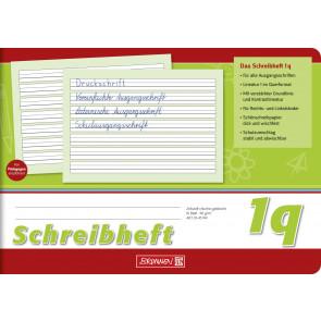 Brunnen Schreibheft DIN A5 quer Lineatur 1q 16 Blatt