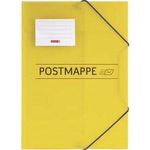 """Brunnen Sammelmappe """"Postmappe"""" DIN A4 Kunststoff mit Gummizug"""