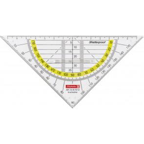 Brunnen Geometrie-Dreieck 16 cm bruchsicher mit Griff