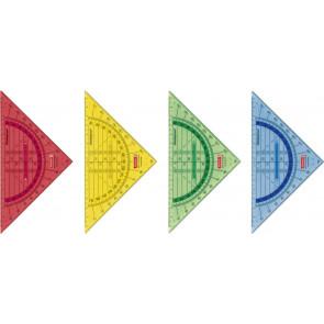 Brunnen Geometrie-Dreieck 16 cm bruchsicher mit Griff in Farbe